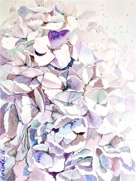 Ksenia Astakhova - A White Hydrangea
