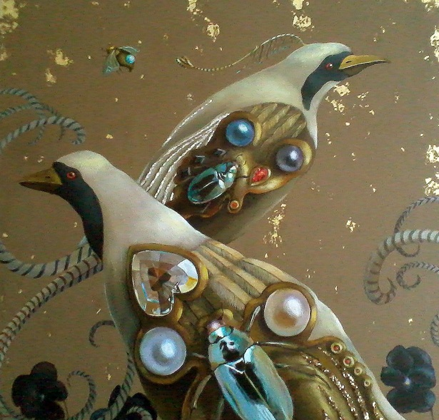 Monika Umba - Golden birds