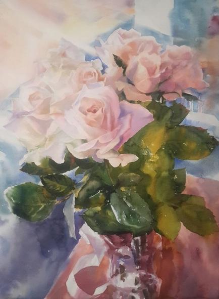 Yuriy Pashkov - Bouquet of roses