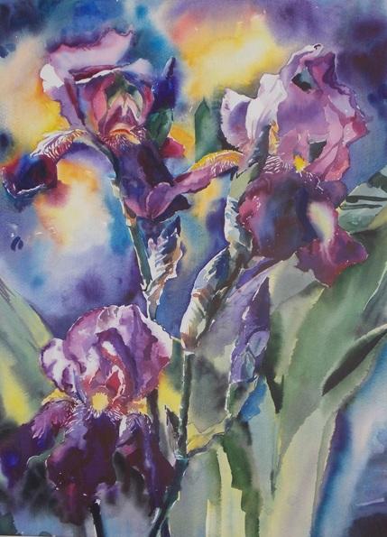 Yuriy Pashkov - Irises