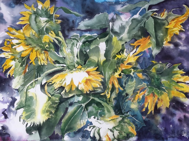 Yuriy Pashkov - Sunflowers