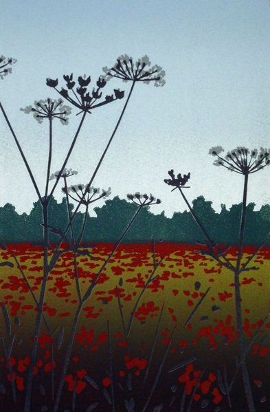 Alexandra Buckle - Poppies and Tall Parsley