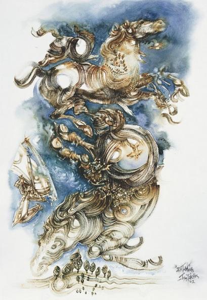 Aristomenis Tsolakis - POTEIDAN (POSEIDON), HIPPIOS RULER OF THE SEAS