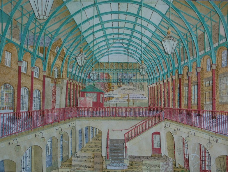 Beth Lievesley - The Classical music court of Covent Garden