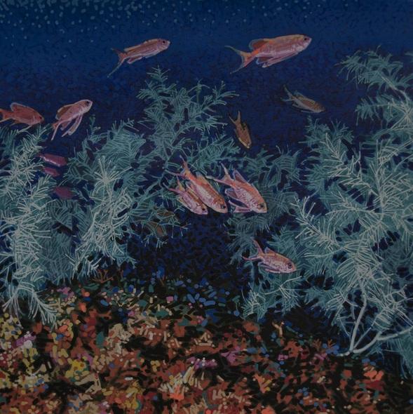 Carlos J. Marquez - Black Coral & Swallowtail Seaperch
