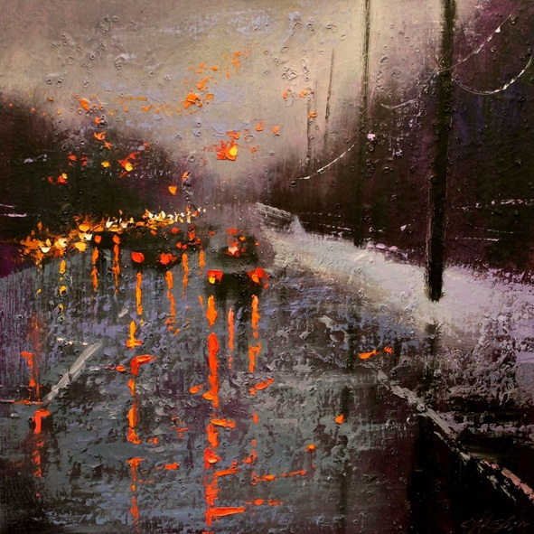 Chin H Shin - Winter Reflection