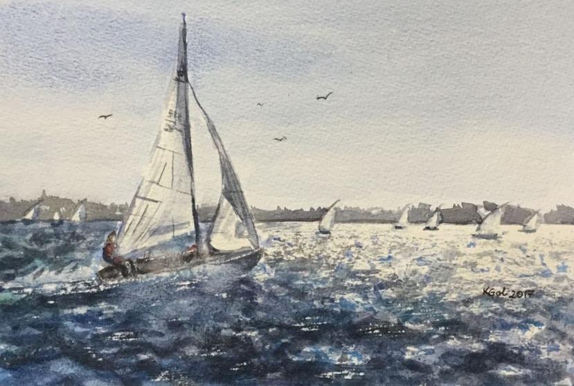 Katarzyna Goleniowska - Into the wind