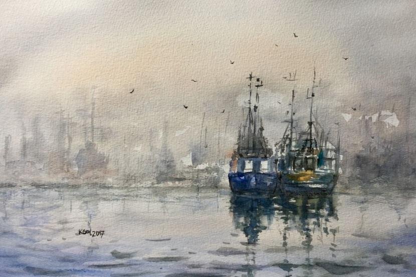 Katarzyna Goleniowska - Misty harbour