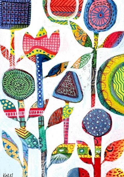 Ketki Fadnis - Organic Abstract 3