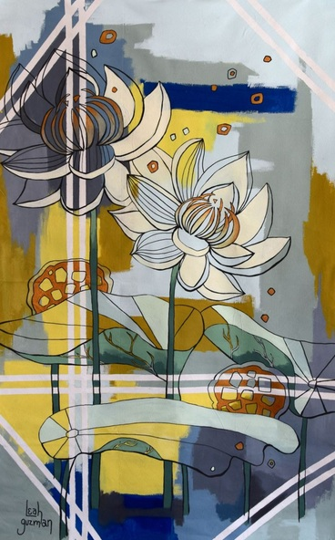 Leah Guzman - Blooming Lotus Series 02