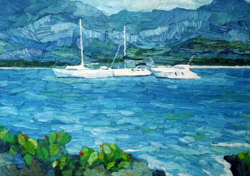 Lia Aminov - Boats