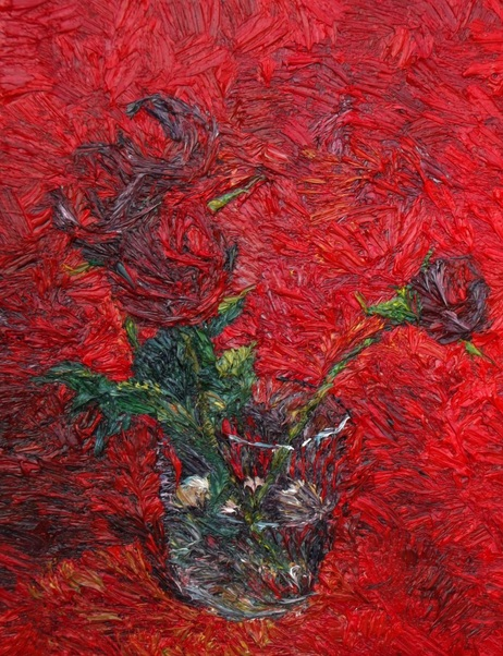 Lia Aminov - Red roses