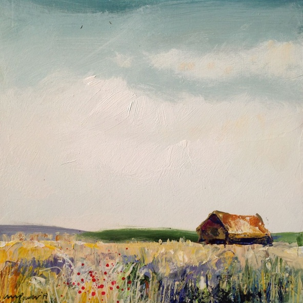 Luci Power - Wheatfield and barn