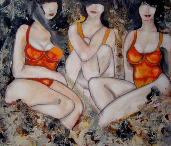 Oliveri Sylvie - Les trois belles au bois dormant