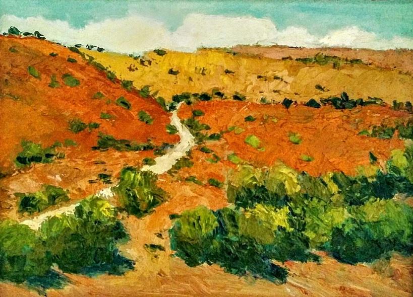 Padmaja Madhu - A Desert Trail