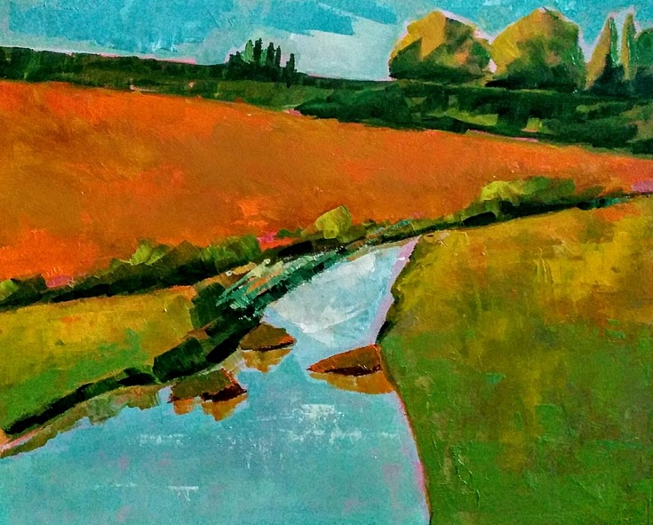 Padmaja Madhu - The little creek somewhere
