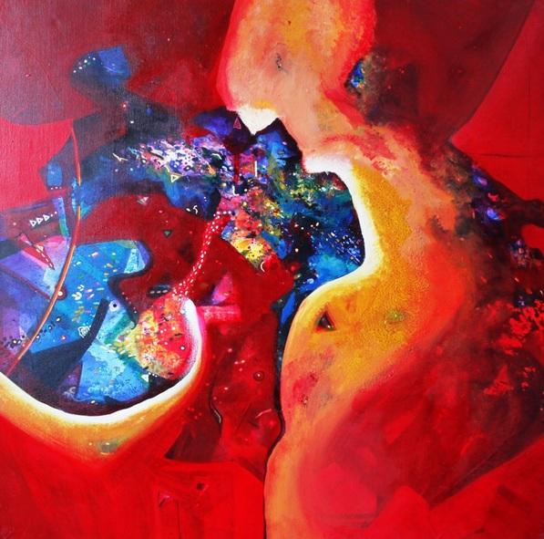 Sanjay Punekar - red harmony