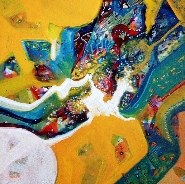 Sanjay Punekar - yellow harmony