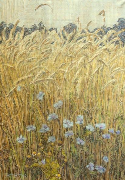 Sergey Komorny - Cornflowers