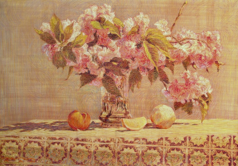 Sergey Komorny - apple flowers