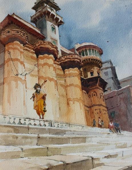 Snehal Page - Banaras Ghat 1