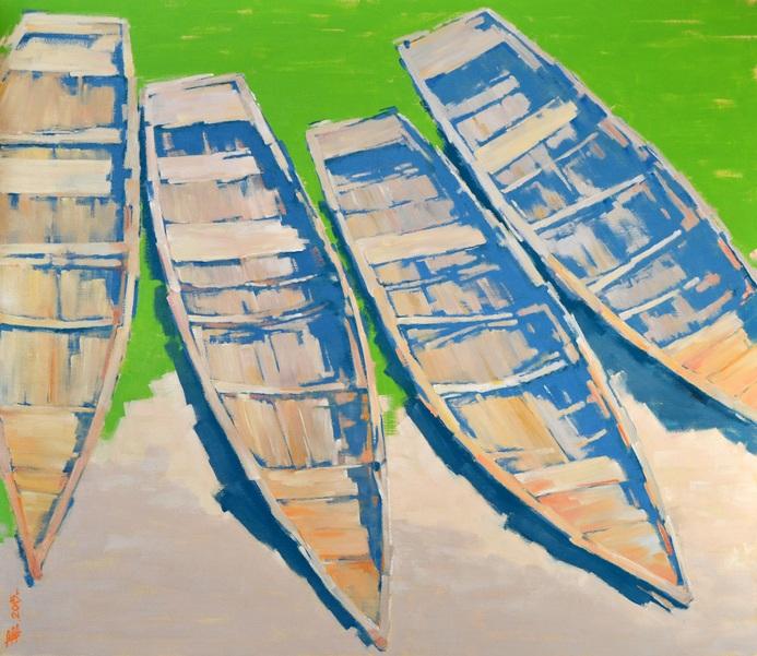 Viacheslav Rogin - 4 old boats