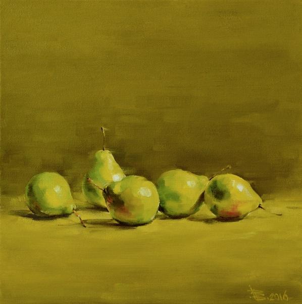 Viacheslav Rogin - Five green pears