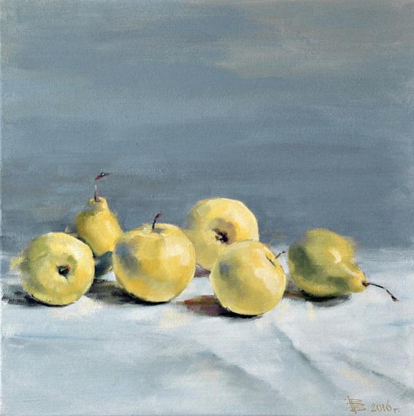 Viacheslav Rogin - Pears and Apples