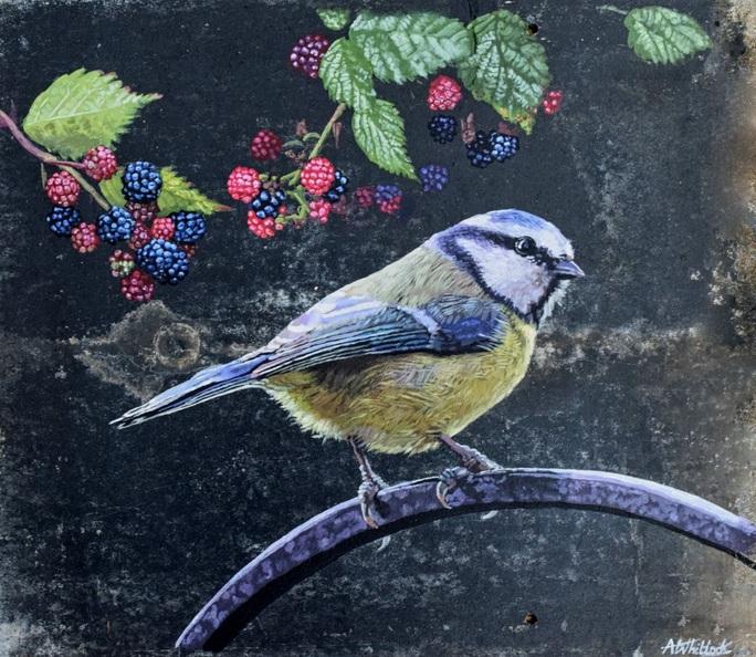 Abi Whitlock - Bird in the Brambles
