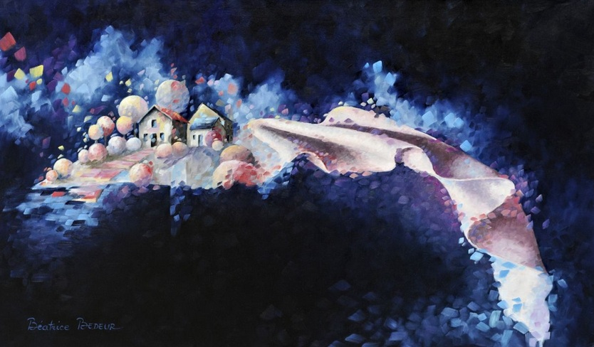 Béatrice Bedeur - Cosmic silks