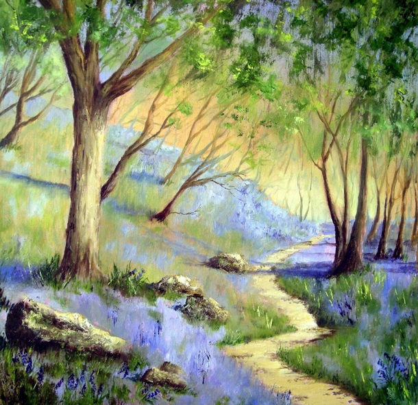 BARBARA HARLOW - BLUEBELL WOODS