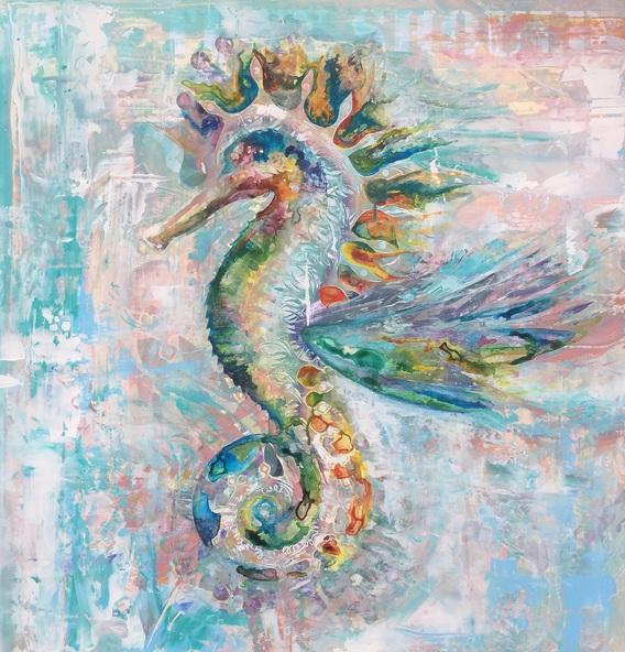 Charlotte de Jongh - Seahorse