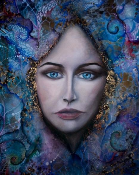 Isabelle Le Pors - Blue falls