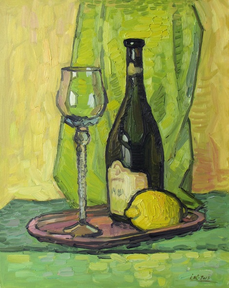 Ivan Kolisnyk - Still Life With Lemon
