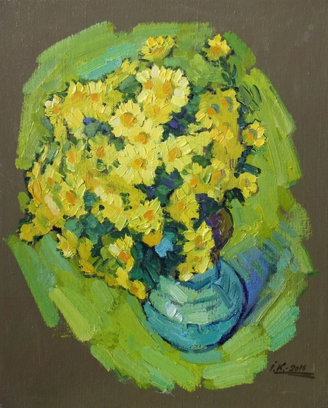 Ivan Kolisnyk - Yellow Flowers