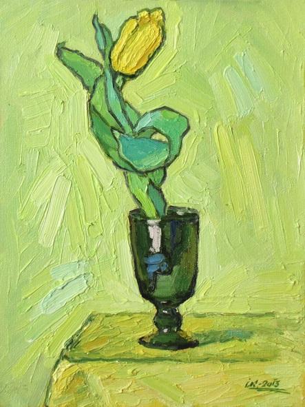 Ivan Kolisnyk - Yellow Tulip