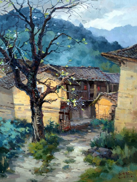 Jiang Zi - Chinese village