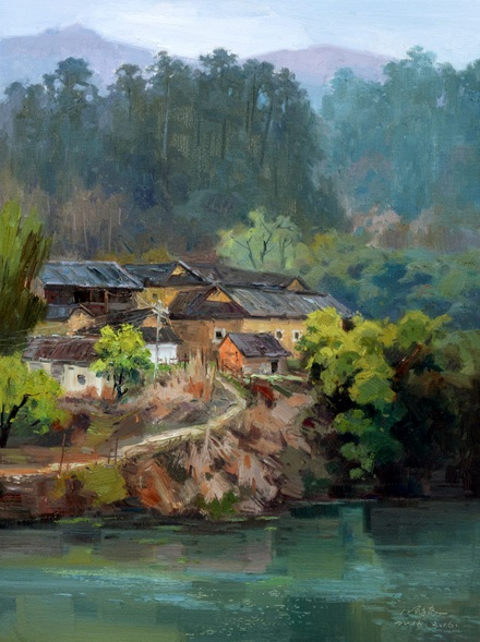 Jiang Zi - rural village 2016