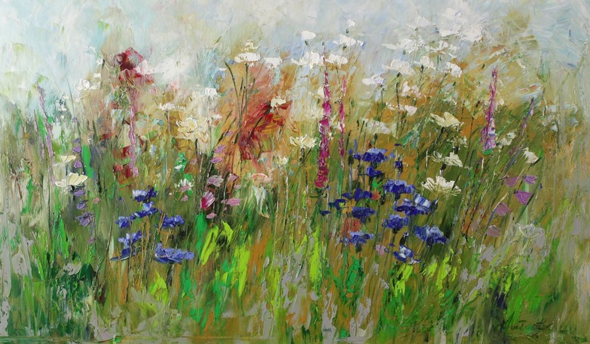 Margaret Raven - Colorful herbs