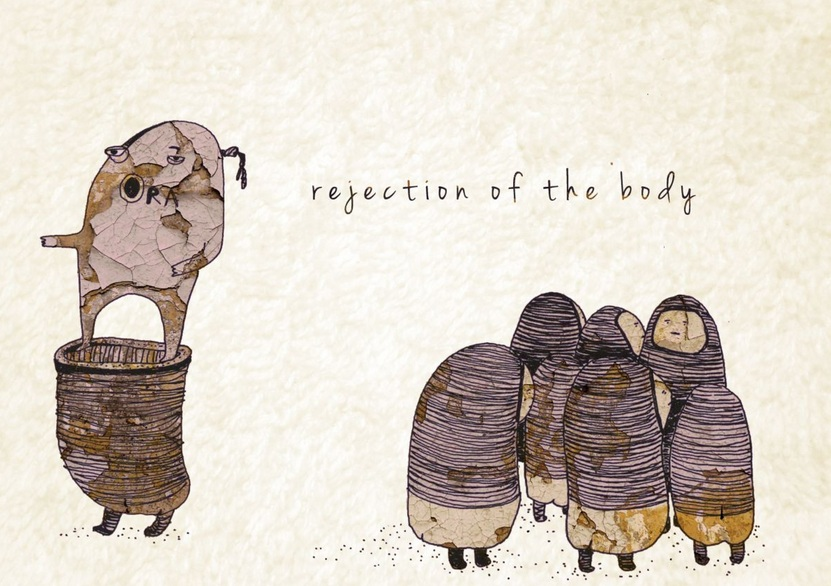 Marina Milev - Rejection of the Body