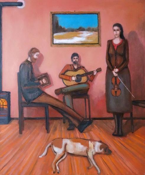 Massimiliano Ligabue - Folk trio