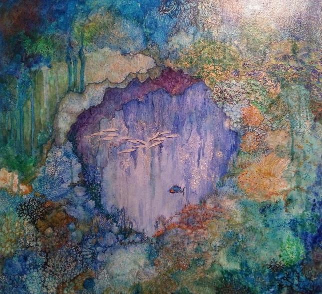 Polly Ballantine - Coral Reef 2 sea cave