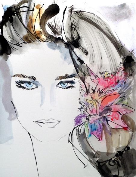 Schuyler Rideout - Hibiscus in Her Hair