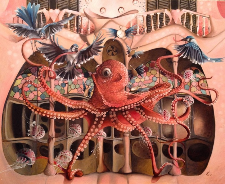 Valentina Toma' - Series Cities Spanish flight school for Octopus