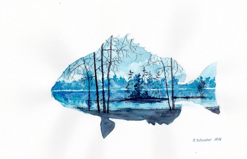 Yulia Schuster - Forest Fish