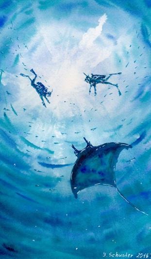 Yulia Schuster - Underwater var.2