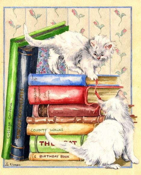 Zoe Elizabeth Norman - Kittens and Books