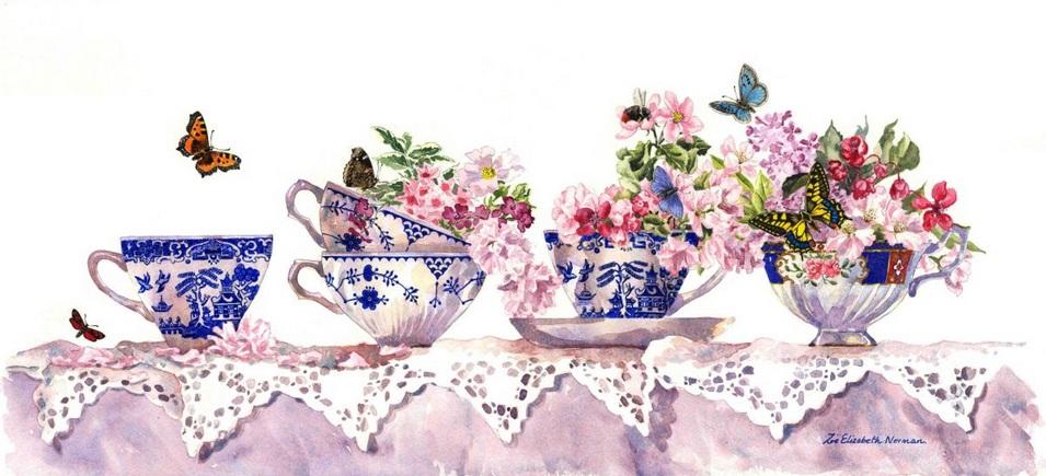 Zoe Elizabeth Norman - Tea Cups