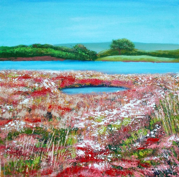amanda horvath - The Salt Marsh, Cuckmere Haven