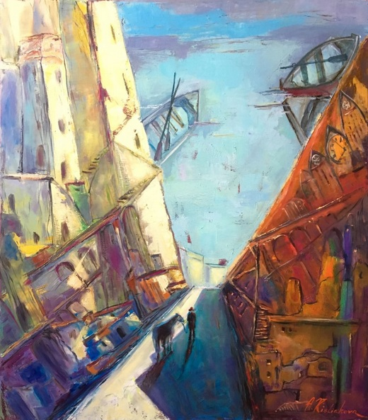 Alla Kysliakova - The morning of the fisherman